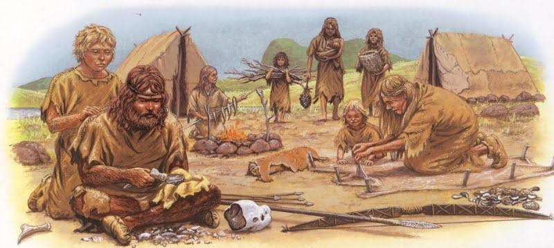 Afbeeldingsresultaat voor prehistorie